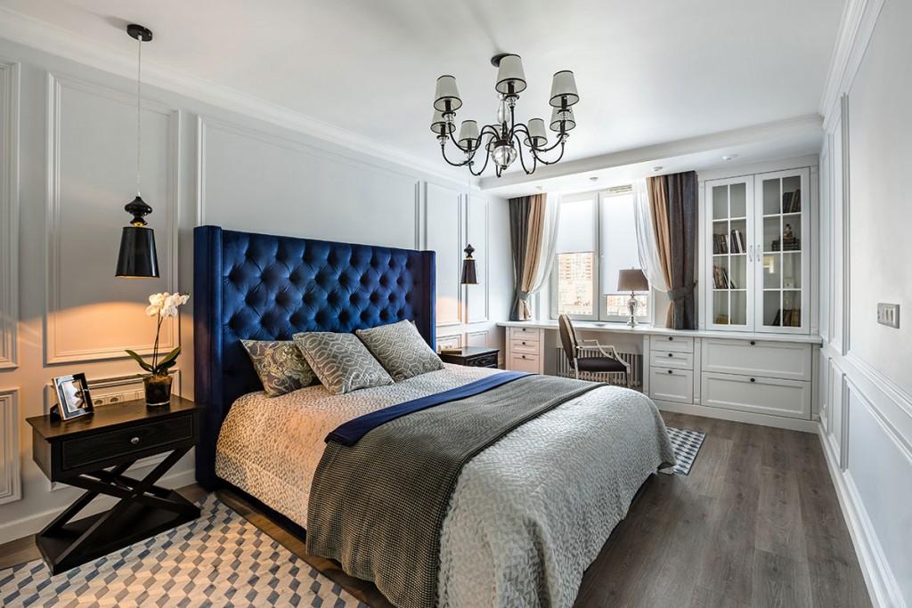 Мебель для спальни в стиле неоклассика