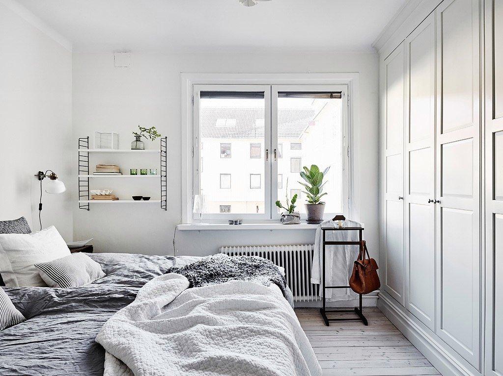 Выбор цвета стен для комнаты в скандинавском стиле