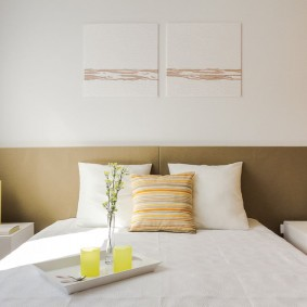 Декор маленькой спальни в современном стиле
