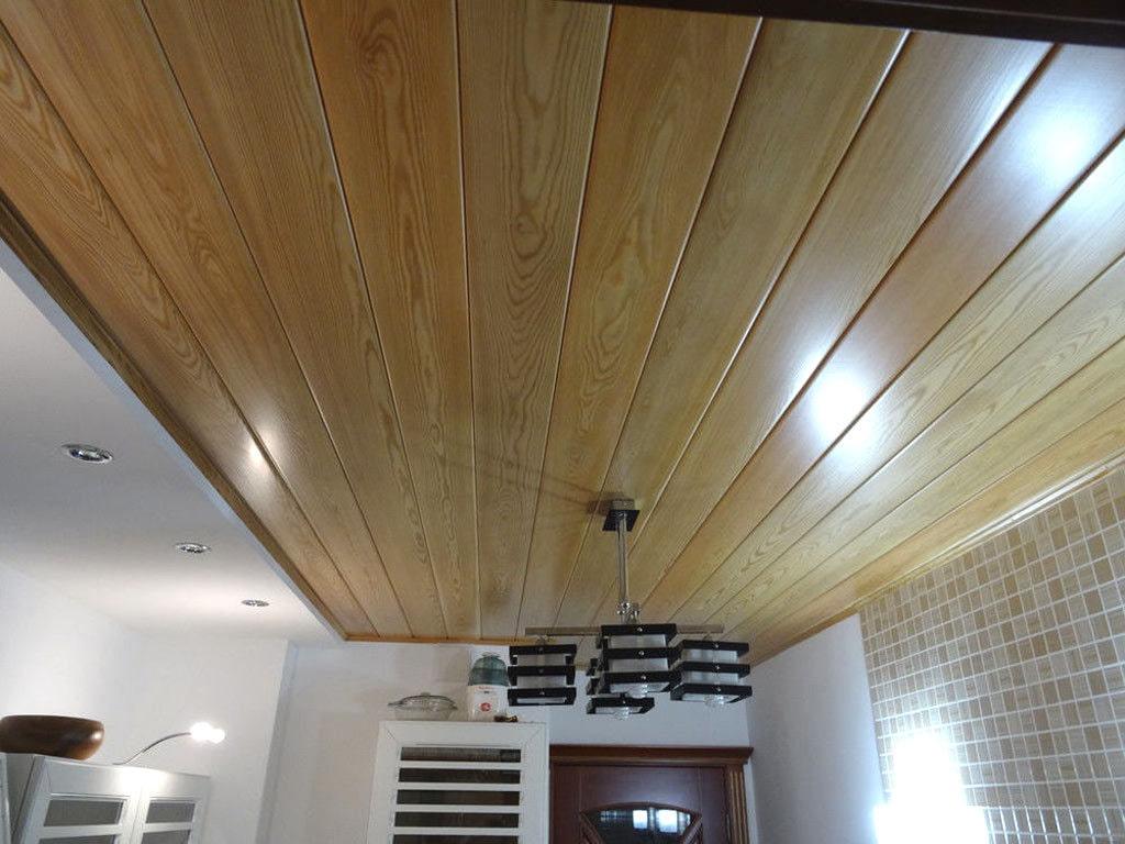Отделка вагонкой потолка в квартире