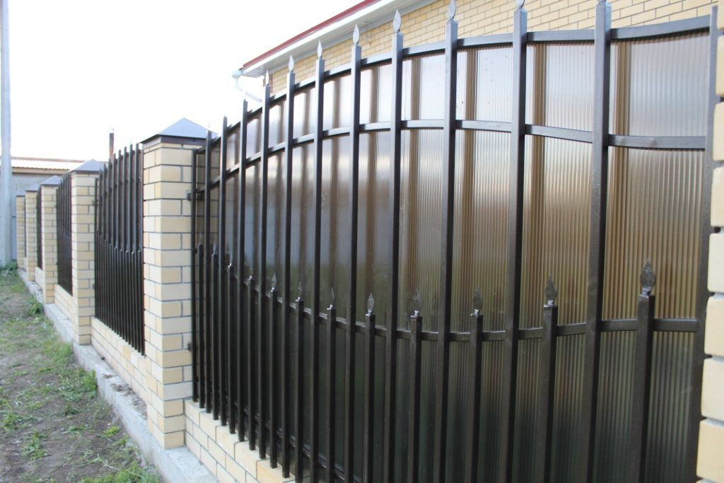 Виды заборов из штакетника фото штора для