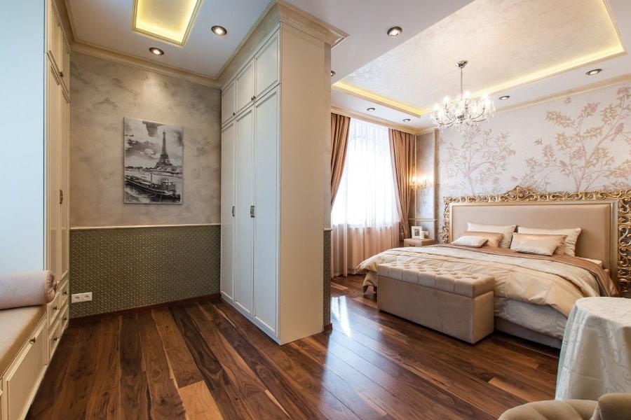 Декорирование спальной комнаты в классическом стиле