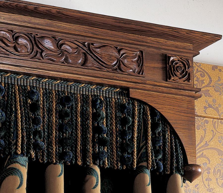 деревянный багет с резьбой в восточном стиле