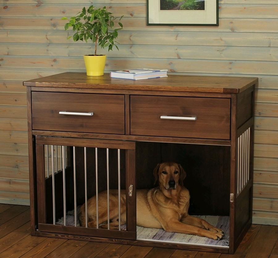Будка для собаки в интерьере двухкомнатной квартиры