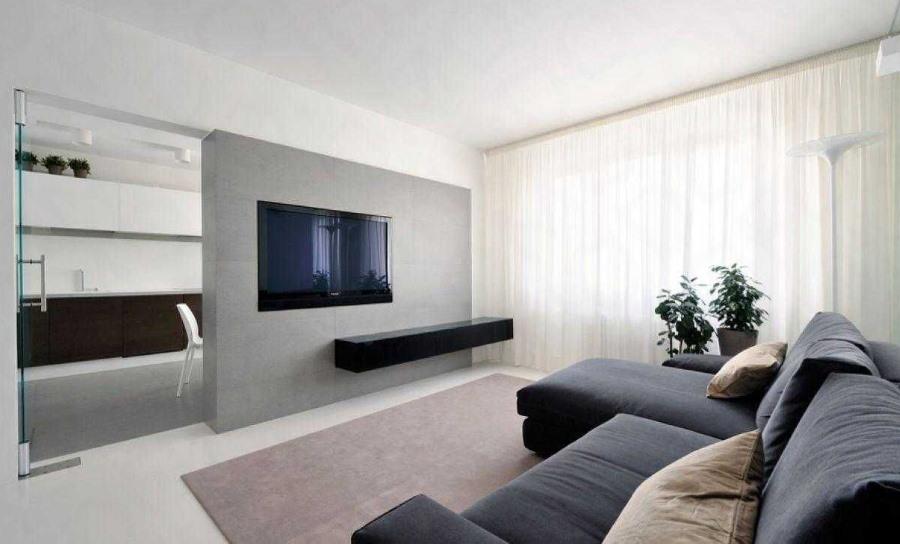 Лаконичный декор квартиры в стиле минимализма
