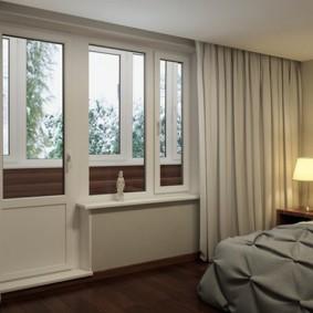 Светлые шторы из плотного материала