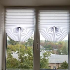 Красивые шторы из бумаги своими руками