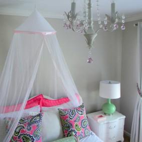 Декор детской комнаты для маленькой девочки