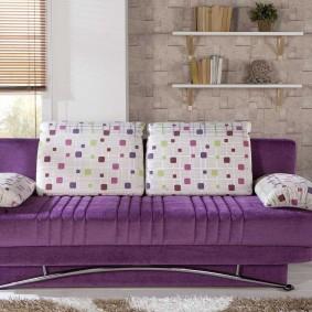 Лаконичная модель дивана для гостиной