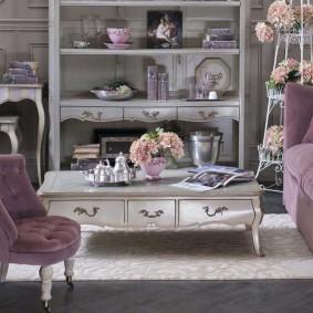Стильная мебель из натурального дерева