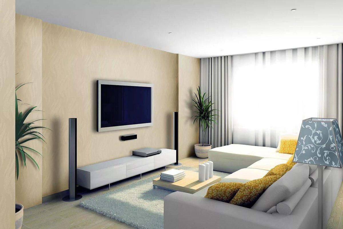 ремонт комнаты с обоями фото красивые, резные длинные