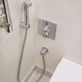Гигиенический душ со скрытым монтажом