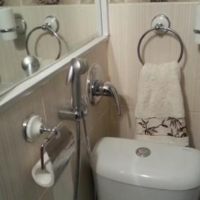 Держатель для туалетной бумаги из нержавеющей стали
