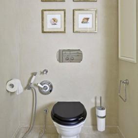 Декор туалета своими руками