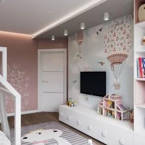 Дизайн детской комнаты в квартире брежневке