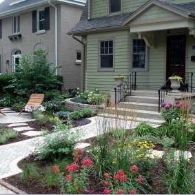 Цветники в ландшафтном дизайне садового участка