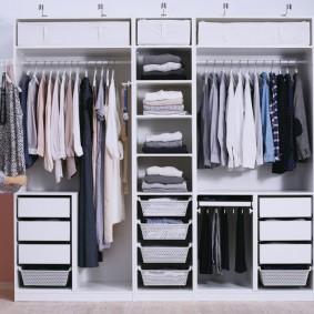 Модульная система для хранения вещей и одежды