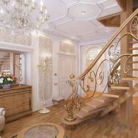 Классическое оформление интерьера квартиры