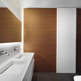 Декоративная подсветка интерьера в ванной
