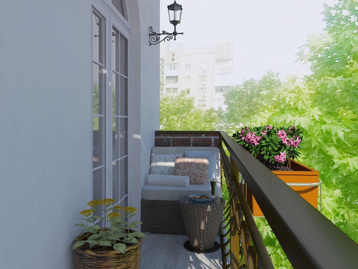 варианты благоустройства балкона фото хотите