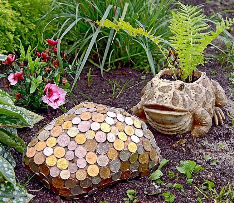 украшение сада и огорода своими руками фото мосту поможет вам