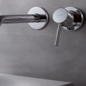 Встраиваемый смеситель для ванной в квартире