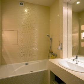 Декоративная подсветка ниш в ванной комнате