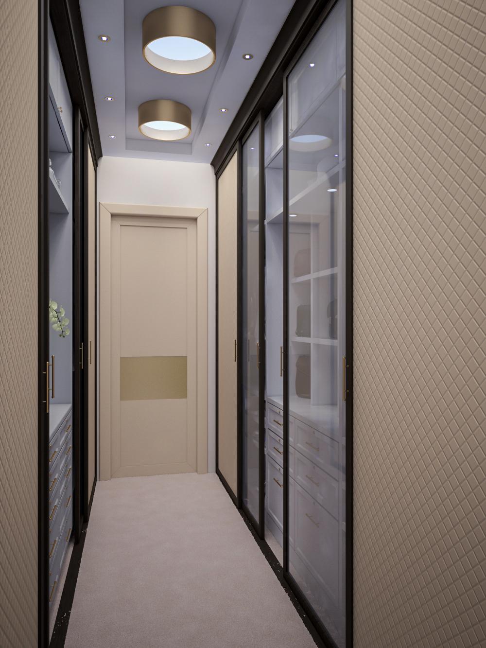 запускают узкий коридор встроенный шкаф освещение фото пытается часто