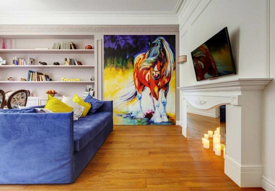 Современная живопись в дизайне квартиры