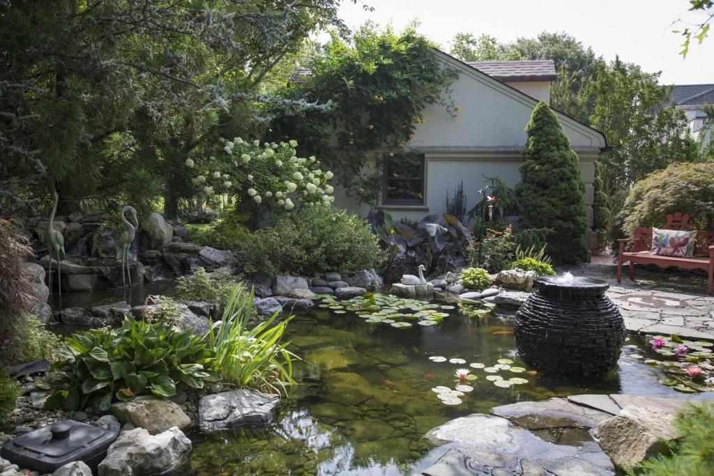 Искусственный водоем в ландшафтном дизайне