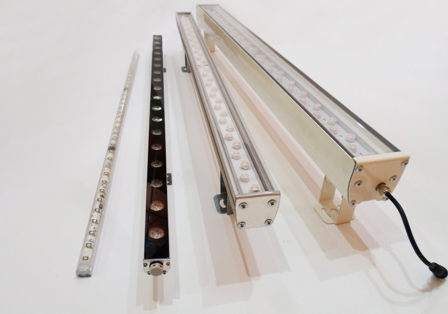 Светодиодные светильники ленточного типа