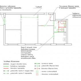 Вариант удачной перепланировки квартиры в панельке