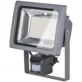 Уличный прожектор для заливающей подсветки фасада