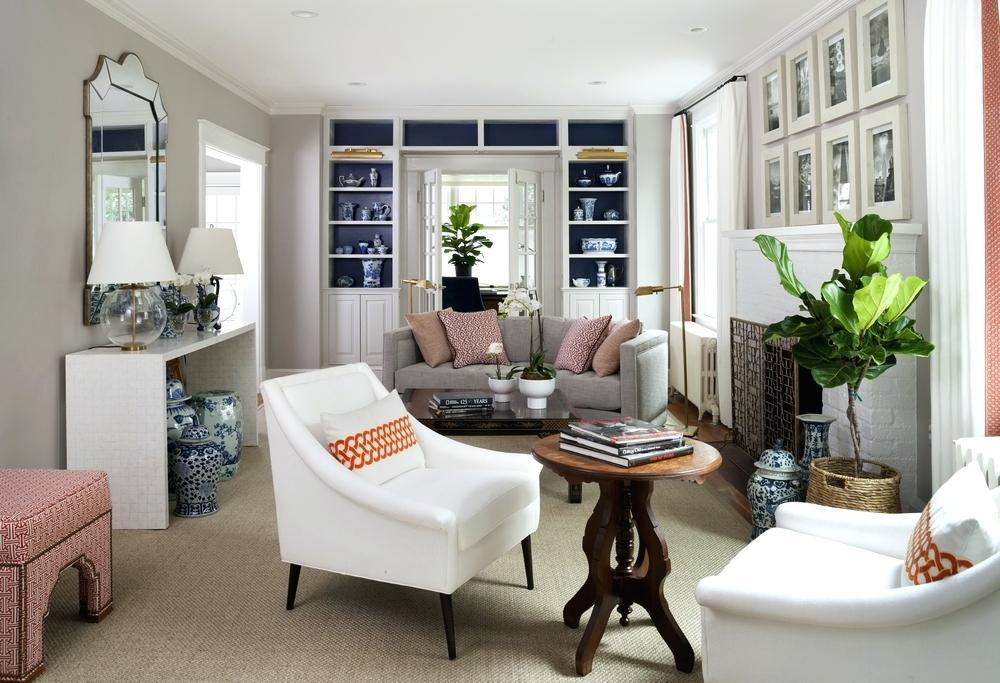 Асимметричная планировка пространства гостиной комнаты