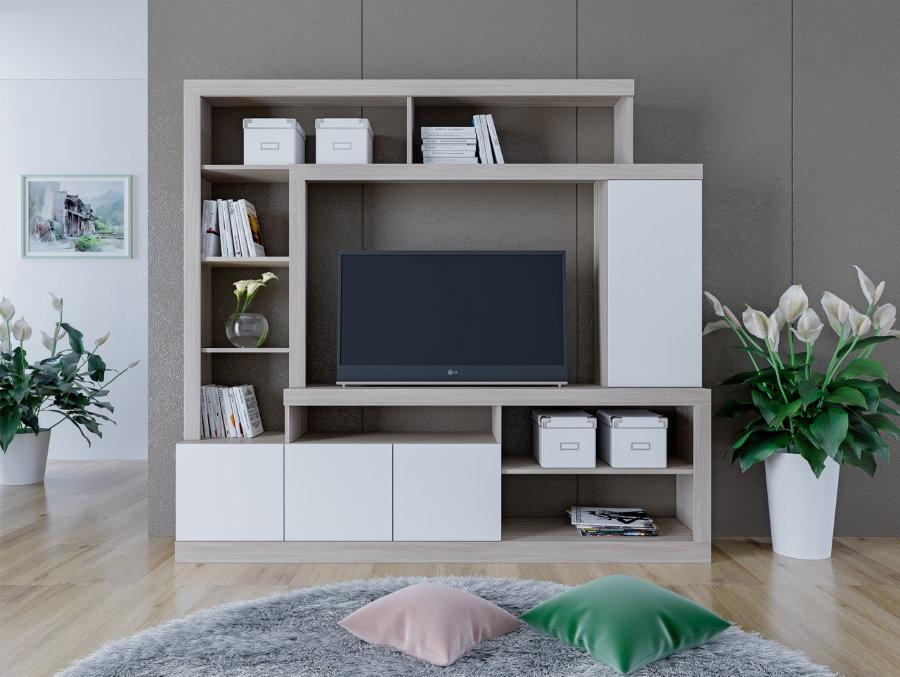 Мини-стенка с полкой для телевизора