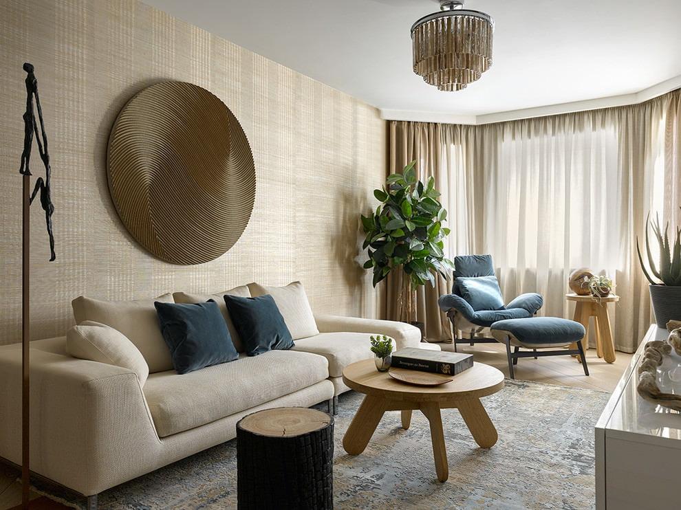 Расстановка мебели в гостиной современного стиля