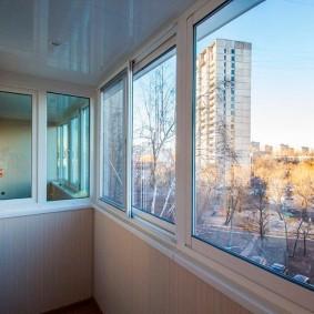 Остекление балкона пластиковыми системами