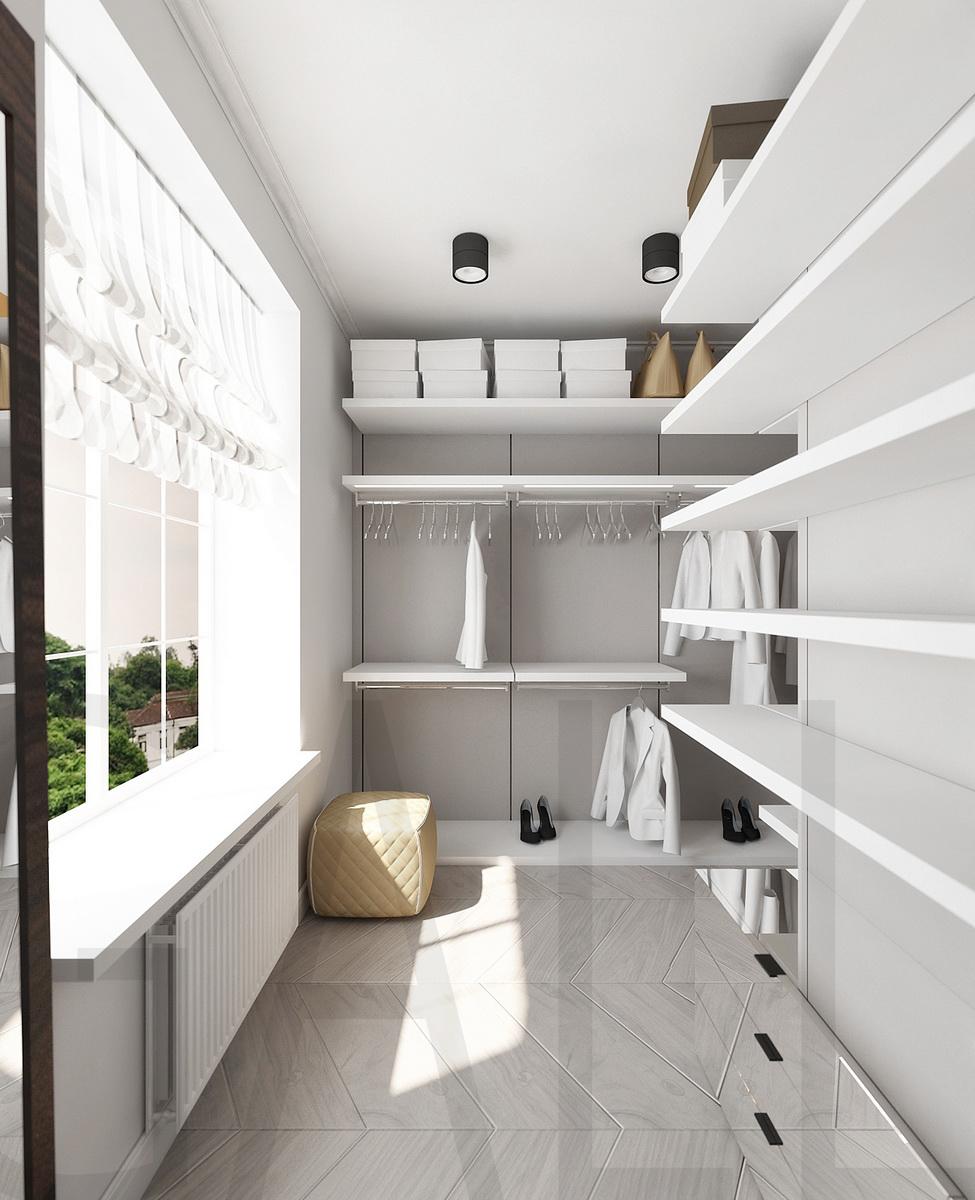 конце гардеробная на лоджии в квартире фото пай