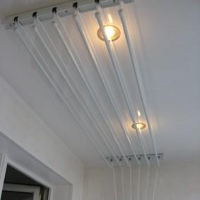Встроенные светильники точечного типа