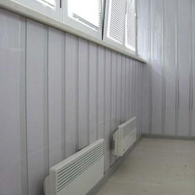 Обогрев балкона с помощью электронагревателей