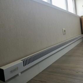 Отопление лоджии с пластиковыми окнами