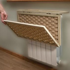 Самодельный экран для радиатора отопления