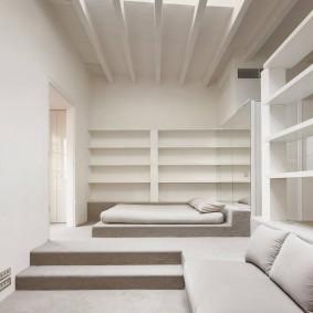 Встроенная мебель в спальной комнате