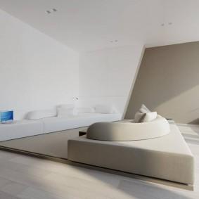 Геометрические формы в интерьере квартиры