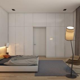 Искусственное освещение в спальном помещении