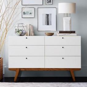 Фото мебели для гостиной в стиле сканди