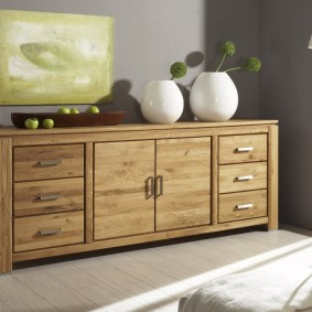 Мебель из массива сосны для гостиной комнаты