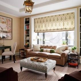 Расстановка мебели в современной гостиной