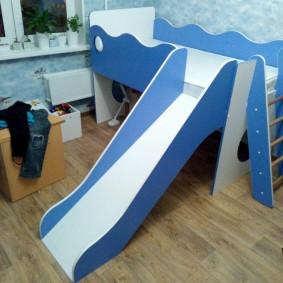 Игровая мебель в интерьере детской мебели