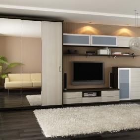 Современная мебель в гостиную комнату
